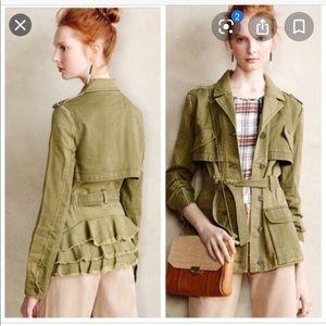 Anthropologie Hei Hei Military Jacket